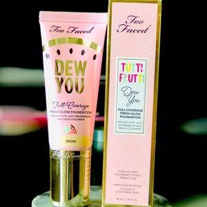 TOO FACED Tutti Frutti Dew You Glow Foundation New